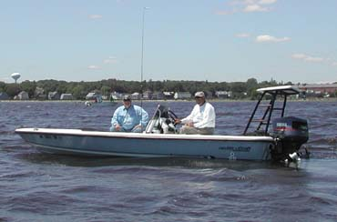 18' ActionCraft Flats Boat